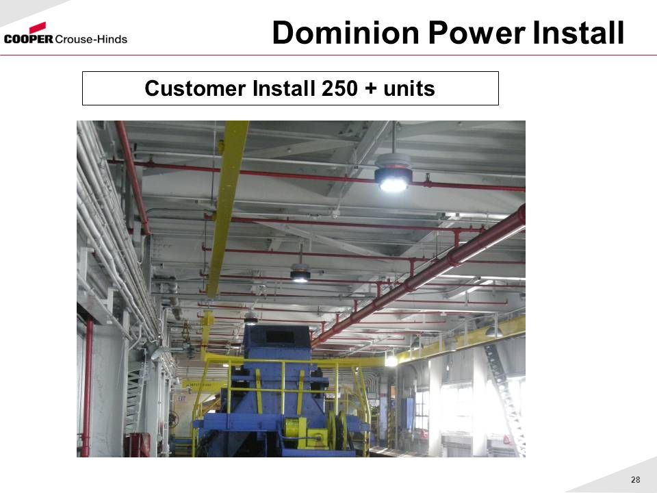 Dominion Power Install