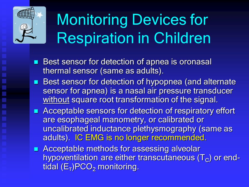 Monitoring Devices for Respiration in Children
