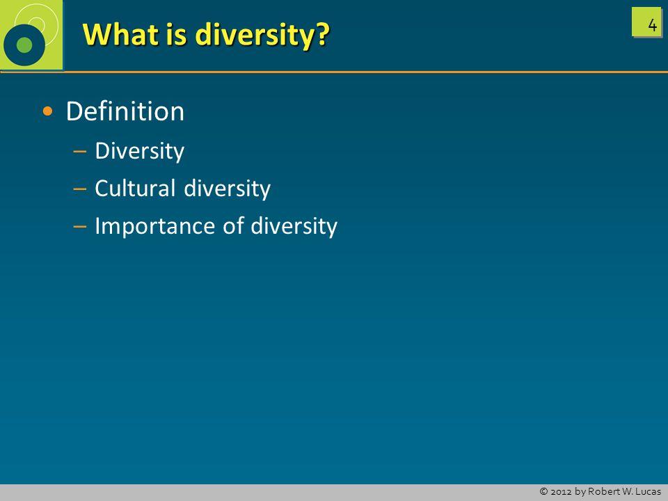 What is diversity Definition Diversity Cultural diversity