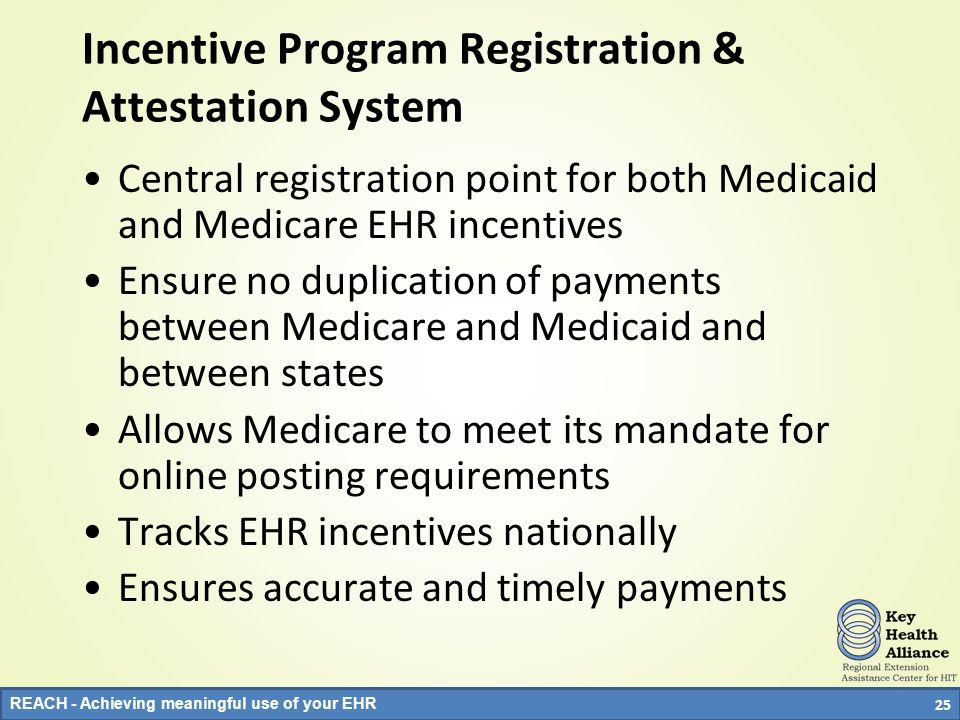 Incentive Program Registration & Attestation System
