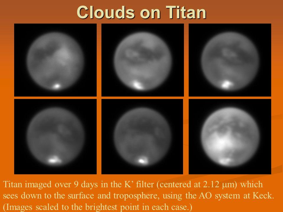 Clouds on Titan