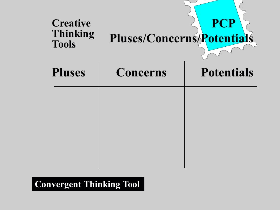 Pluses/Concerns/Potentials