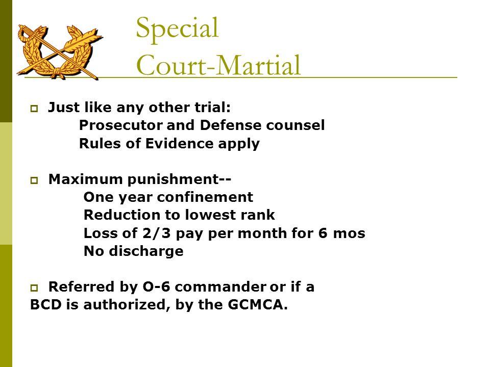 Special Court-Martial
