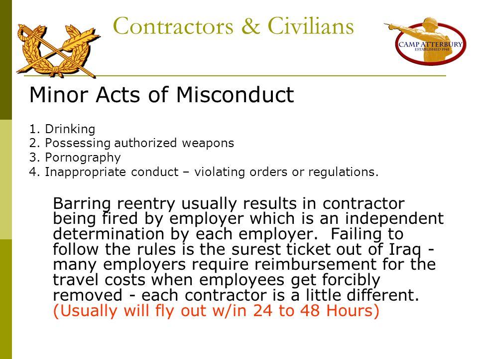 Contractors & Civilians
