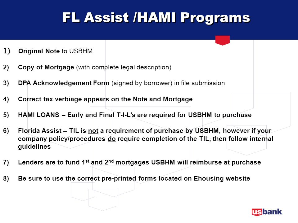 FL Assist /HAMI Programs