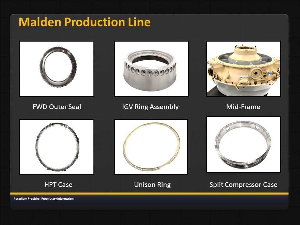 Malden Production Line