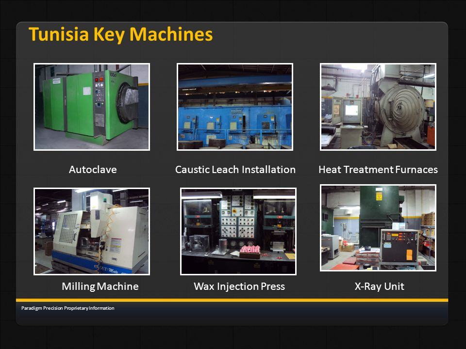 Tunisia Key Machines Autoclave Caustic Leach Installation
