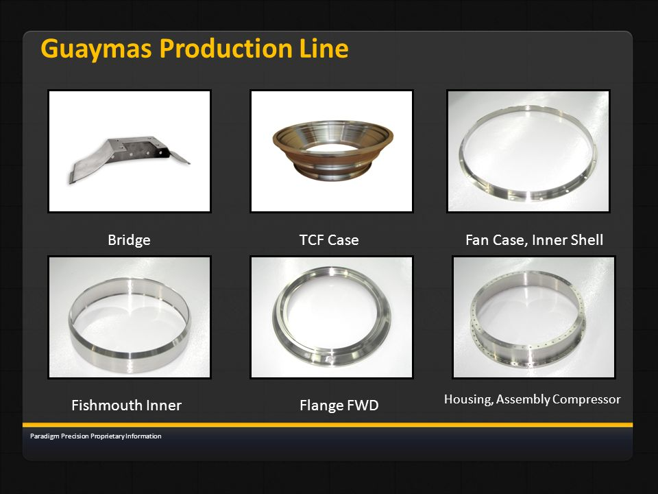 Guaymas Production Line