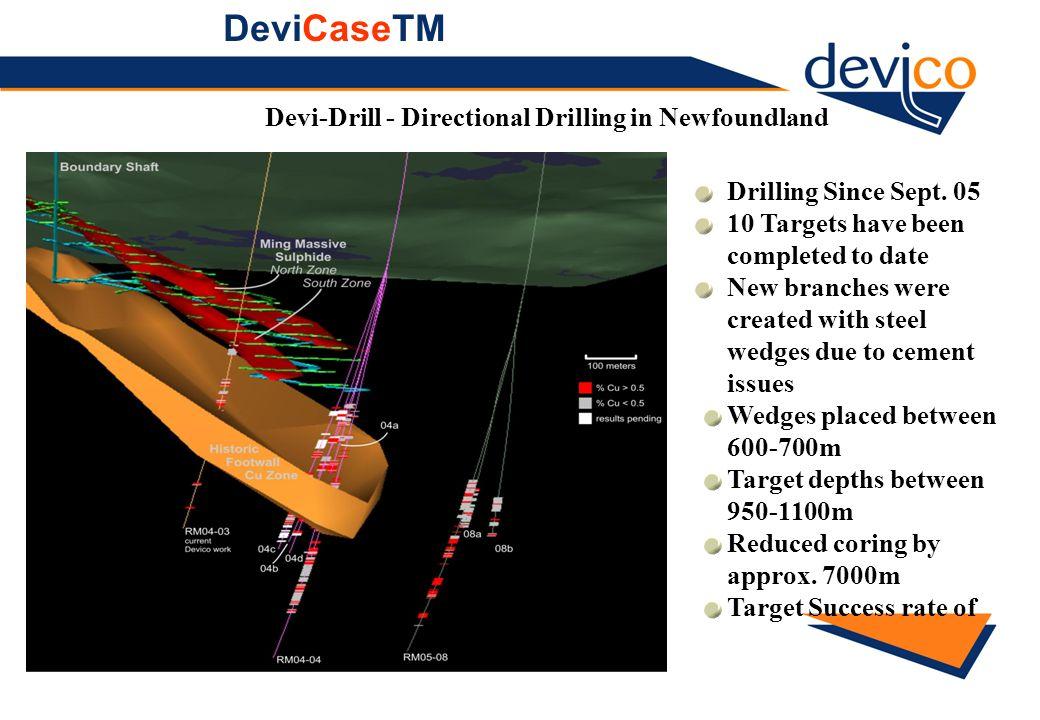 DeviCaseTM Devi-Drill - Directional Drilling in Newfoundland