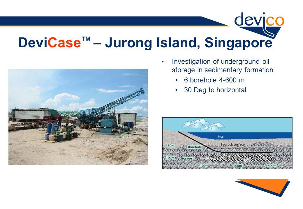 DeviCaseTM – Jurong Island, Singapore
