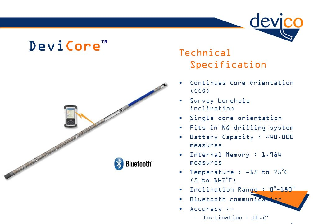 DeviCoreTM Technical Specification Continues Core Orientation (CCO)