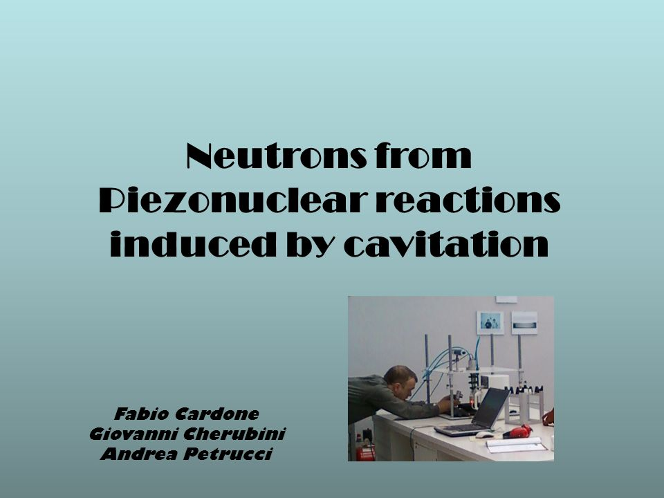 Neutrons from Piezonuclear reactions induced by cavitation