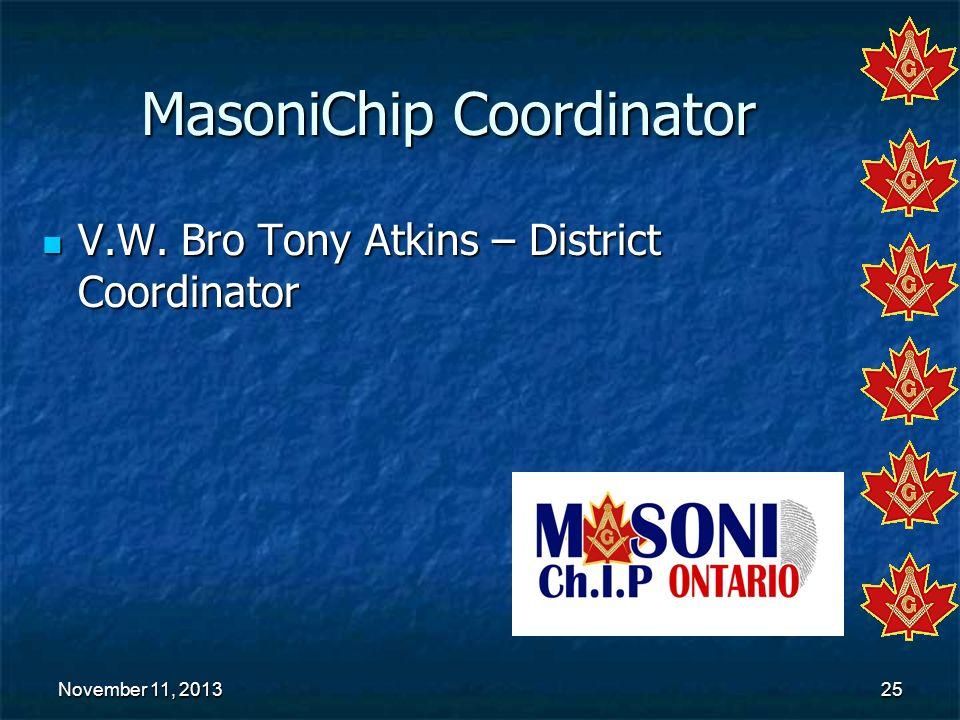 MasoniChip Coordinator