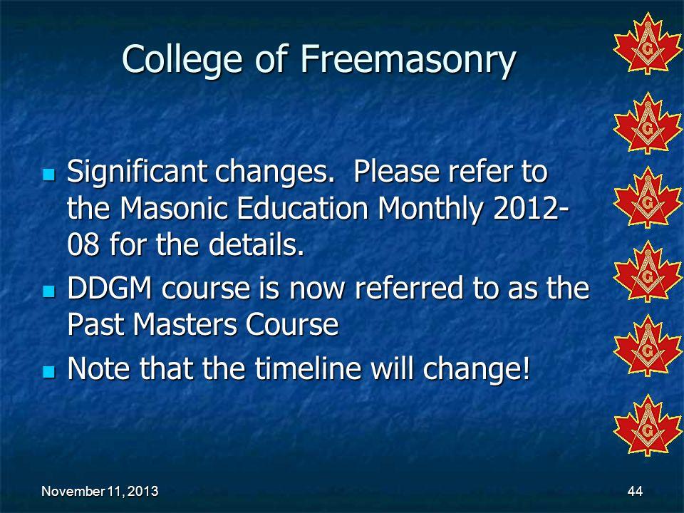 College of Freemasonry