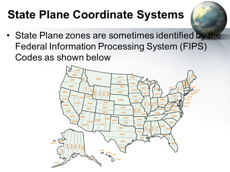 State Plane Coordinate Systems