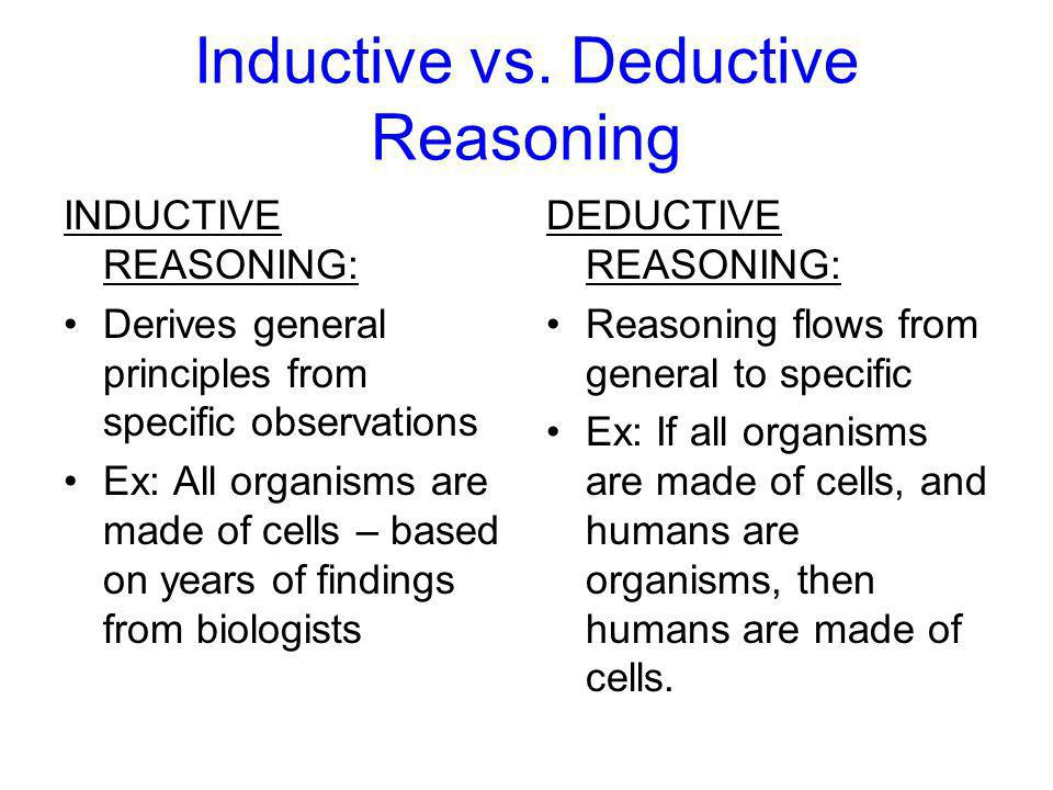 deductive reasoning Discover the ins and outs of the deductive reasoning tests and review some  deductive reasoning test questions including detailed answer explanations.