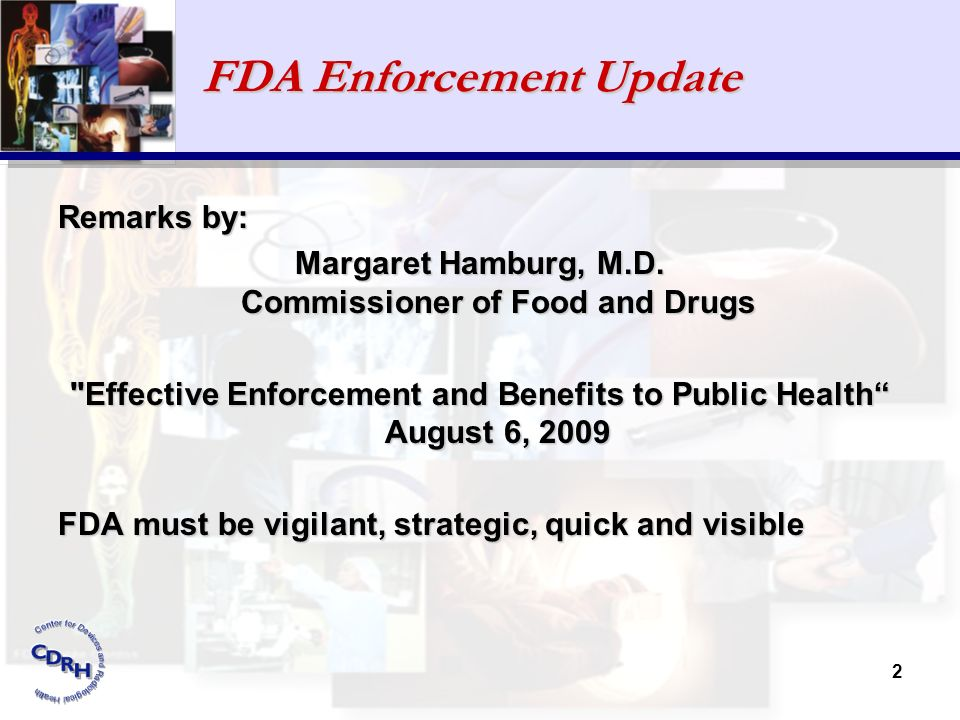 FDA Enforcement Update