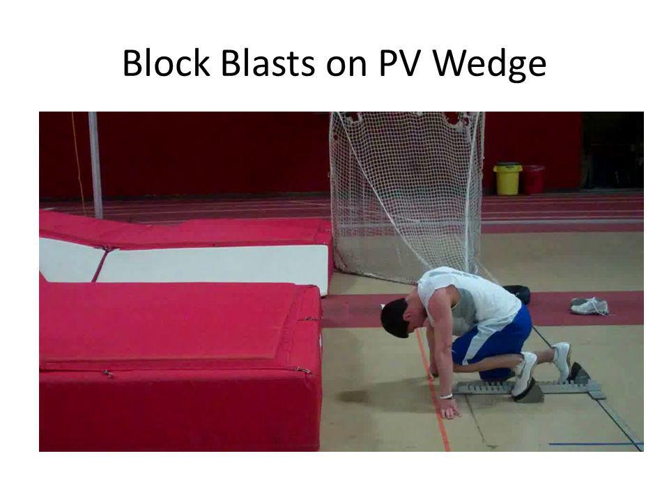 Block Blasts on PV Wedge