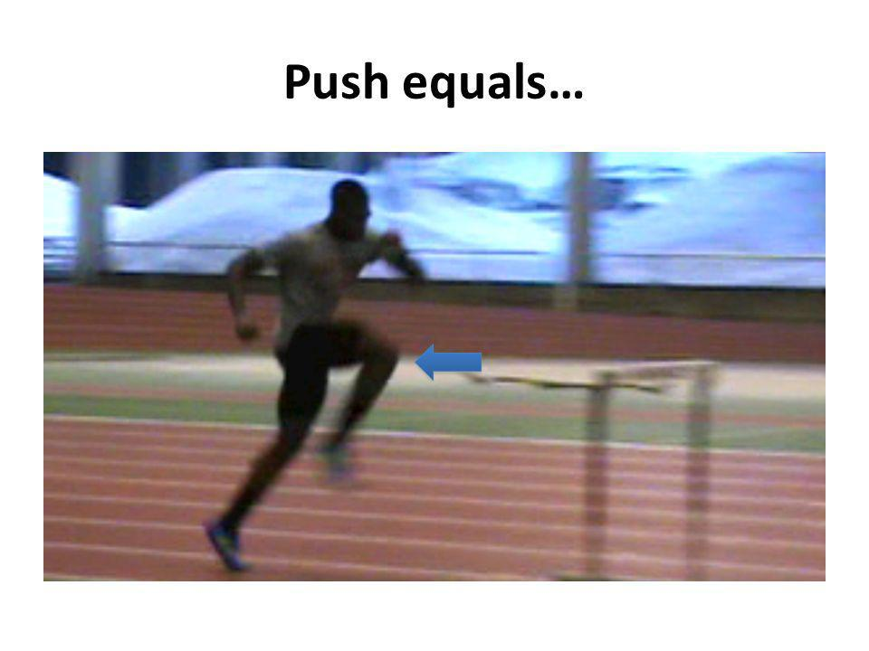 Push equals…