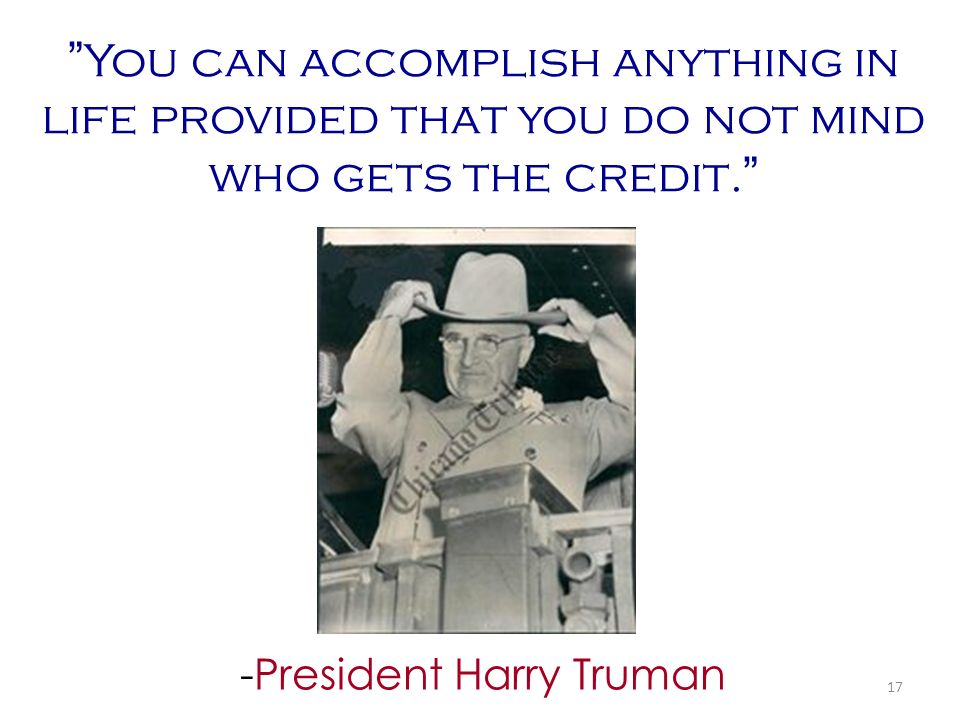 -President Harry Truman