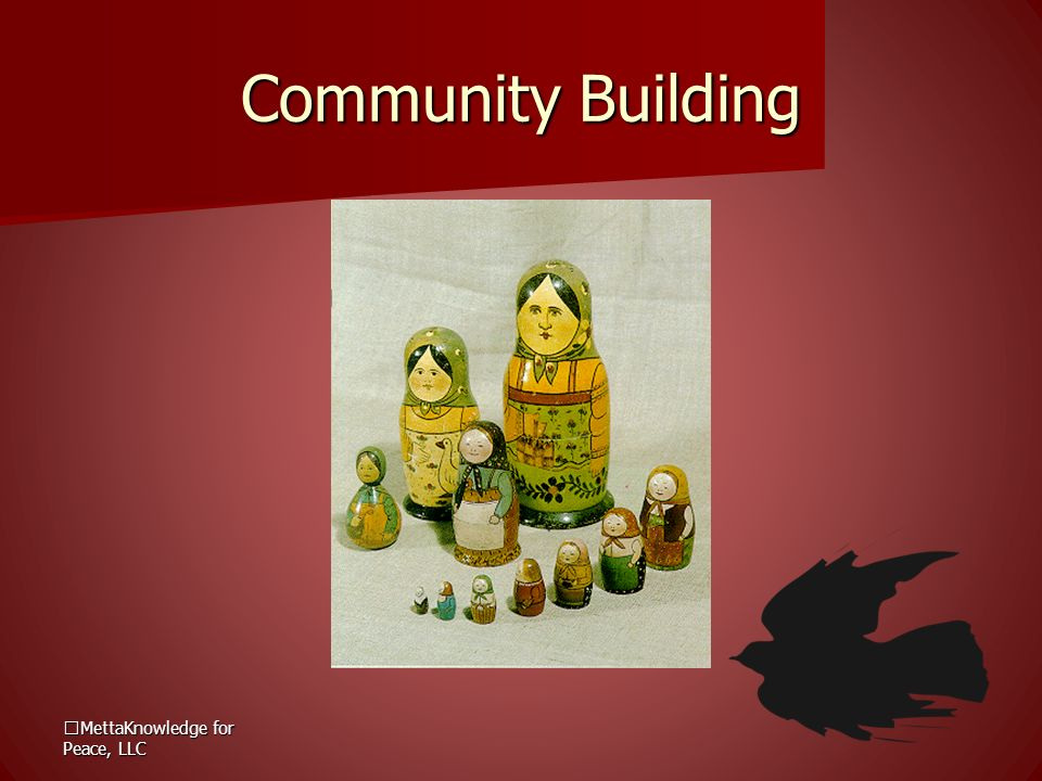 Community Building MettaKnowledge for Peace, LLC