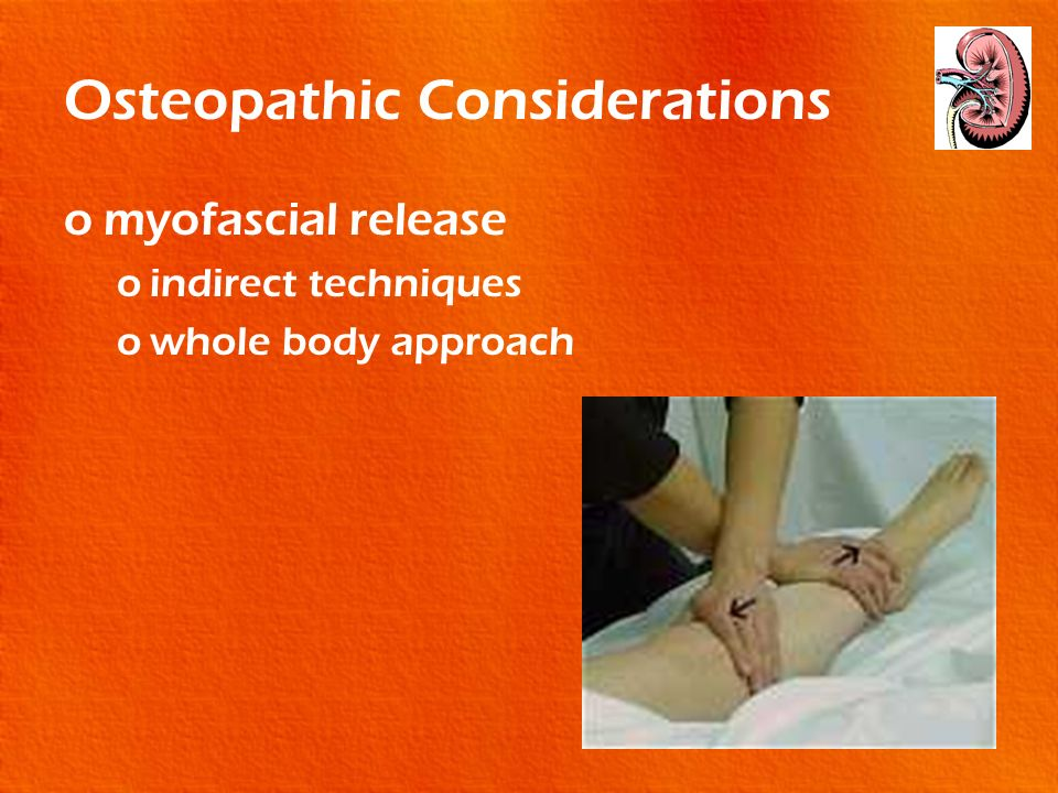 Osteopathic Considerations