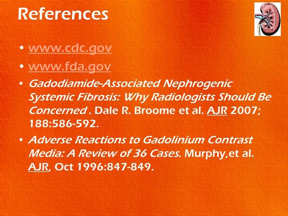 References www.cdc.gov www.fda.gov