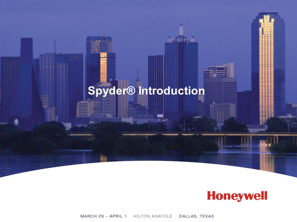 Spyder® Introduction