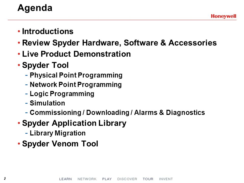 Agenda Introductions Review Spyder Hardware, Software & Accessories