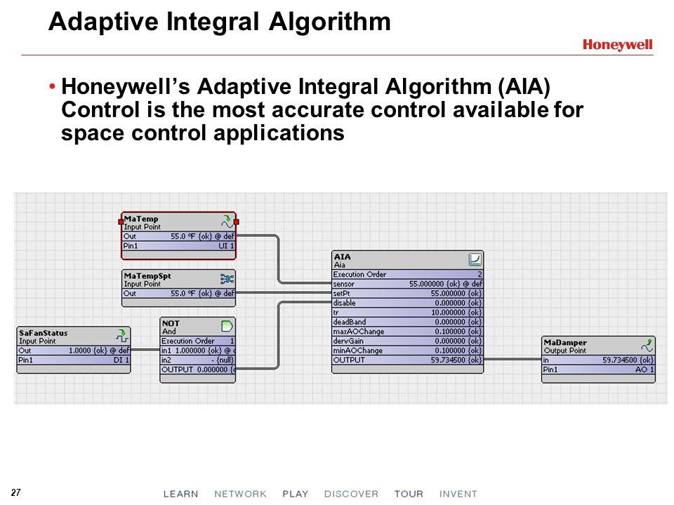 Adaptive Integral Algorithm