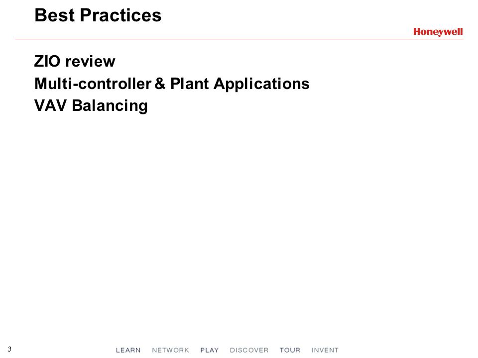 Best Practices ZIO review Multi-controller & Plant Applications