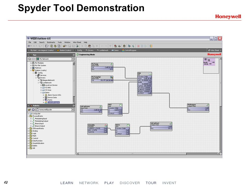 Spyder Tool Demonstration
