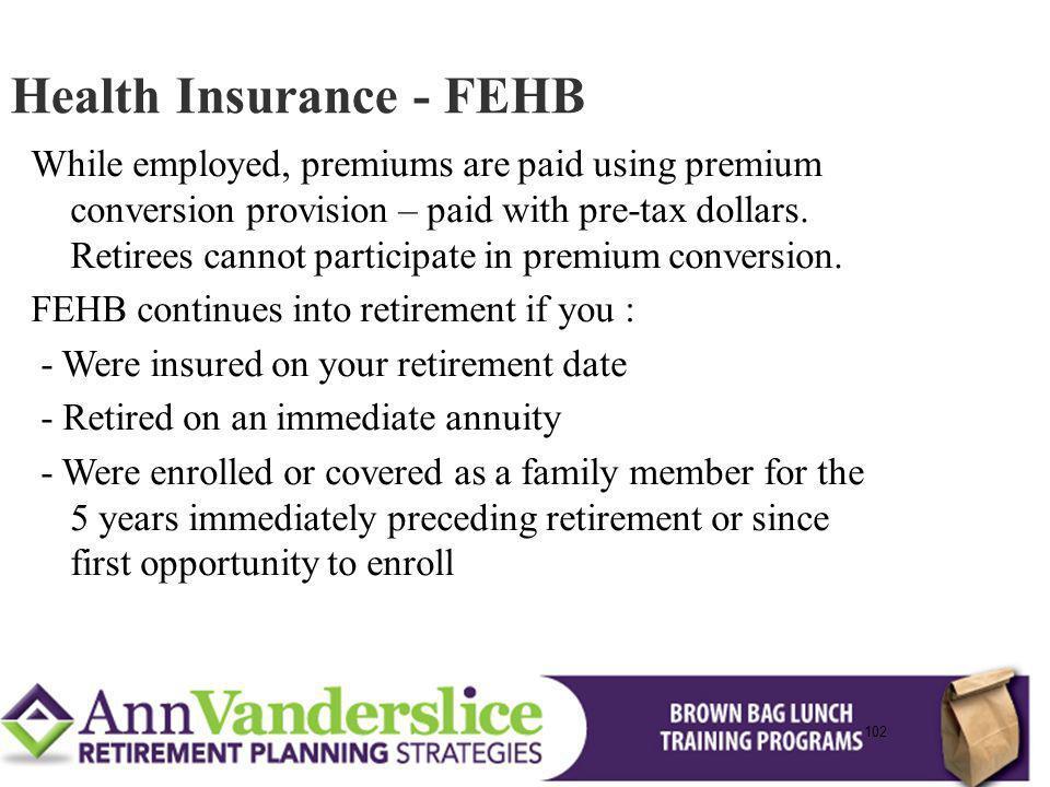 Health Insurance - FEHB