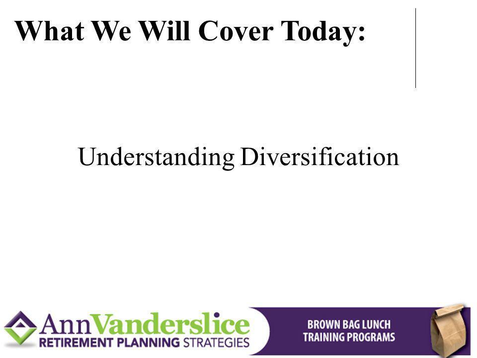 Understanding Diversification