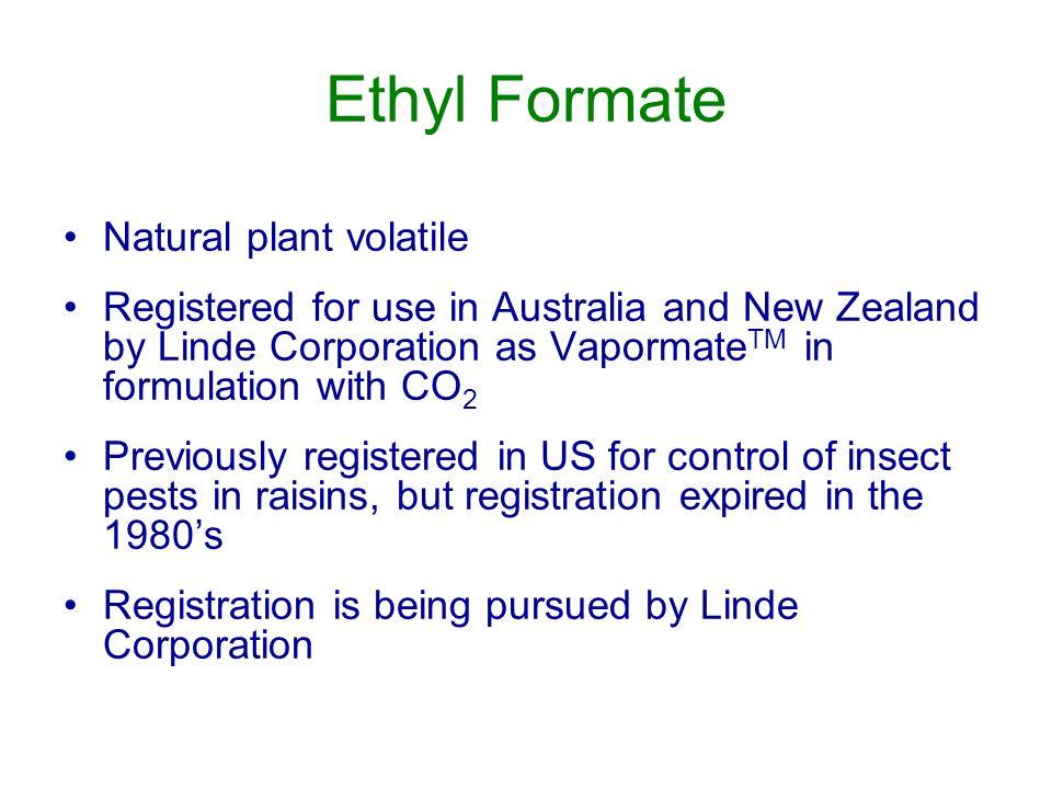 Ethyl Formate Natural plant volatile