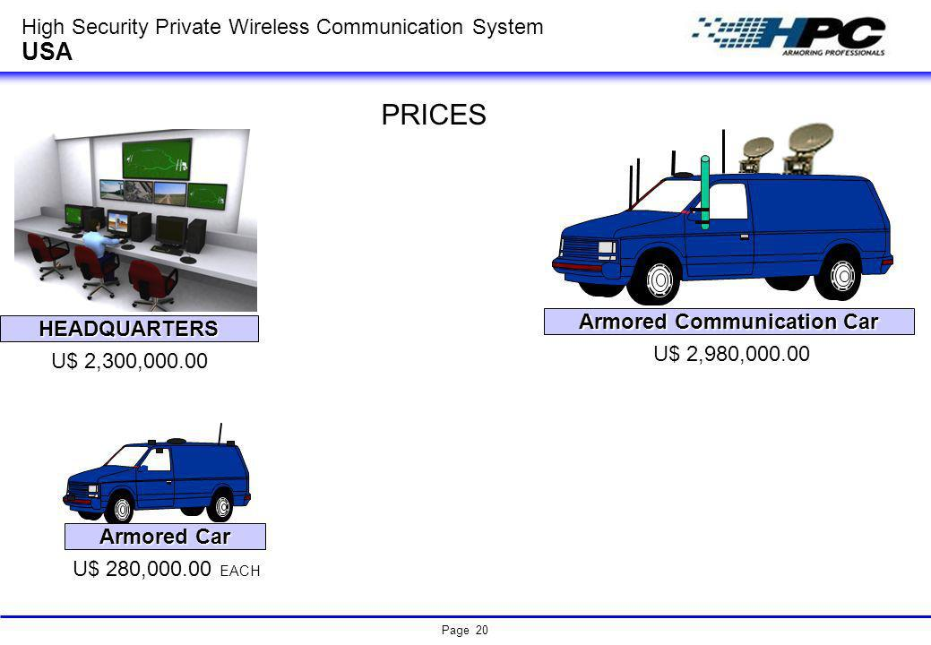 Armored Communication Car