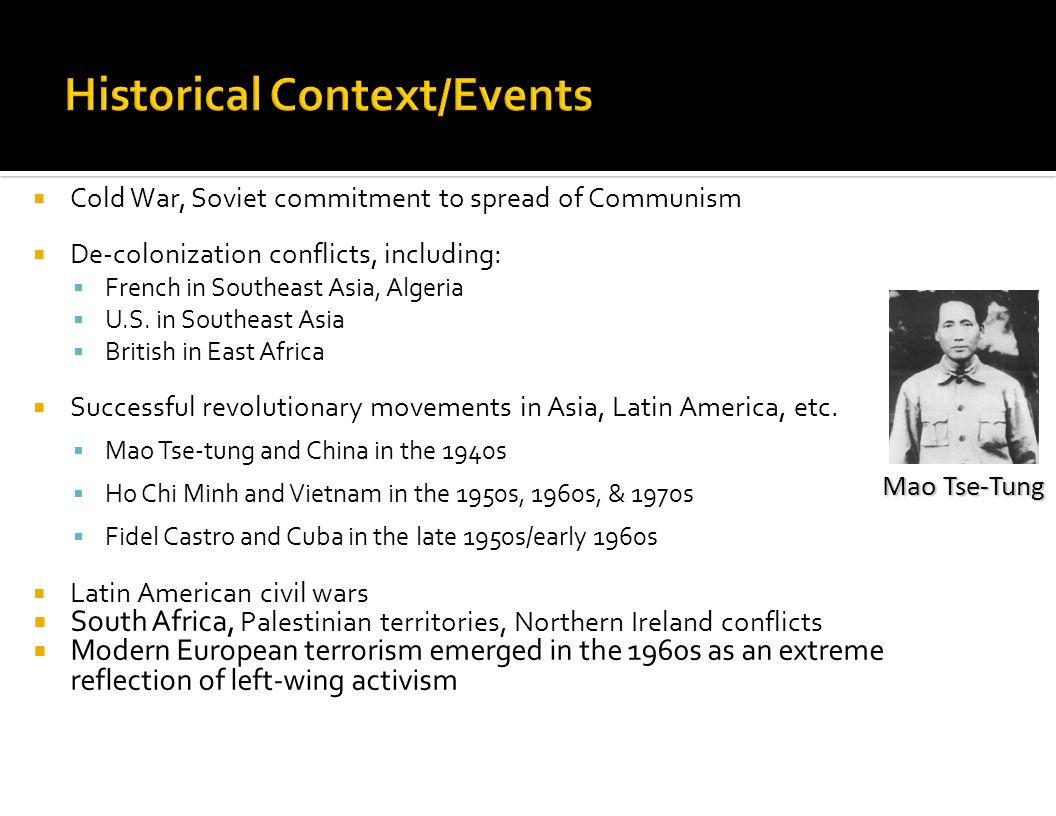 Historical Context/Events