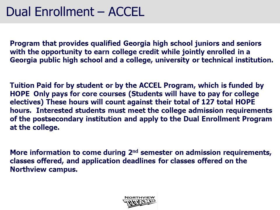Dual Enrollment – ACCEL