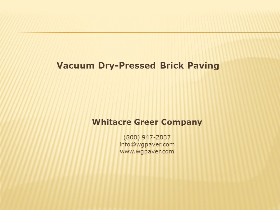 Whitacre Greer Company