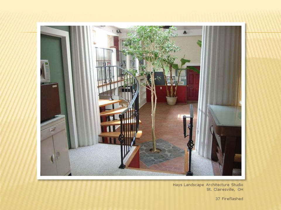 Hays Landscape Architecture studio, St