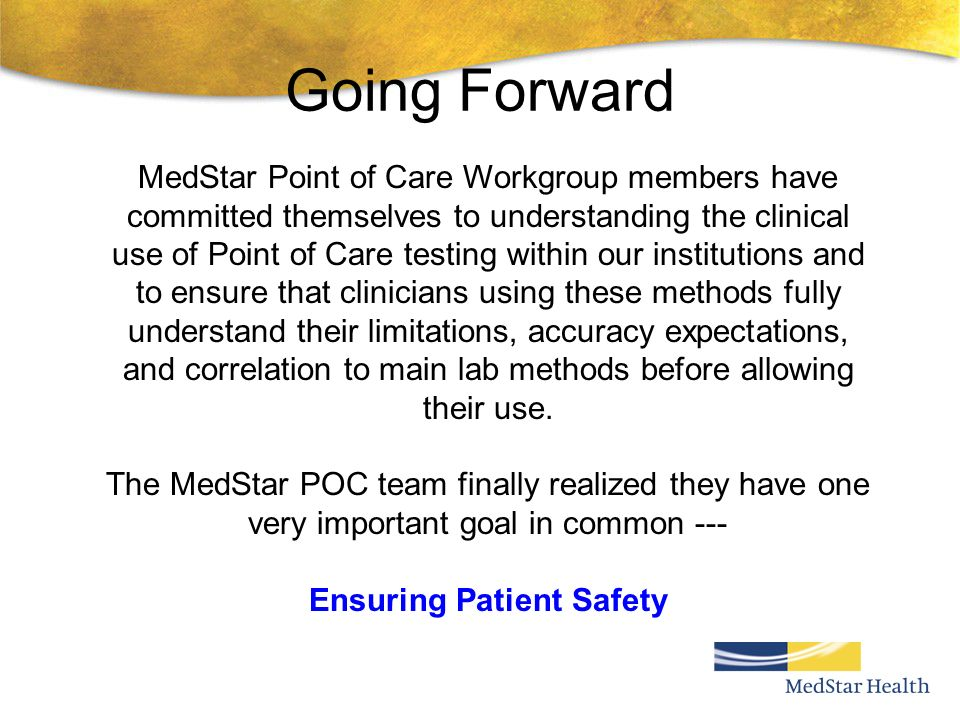Ensuring Patient Safety