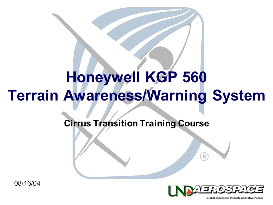 Honeywell KGP 560 Terrain Awareness/Warning System