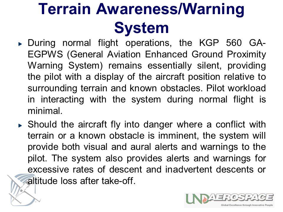 Terrain Awareness/Warning System