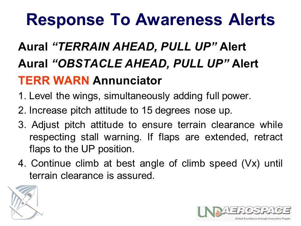Response To Awareness Alerts