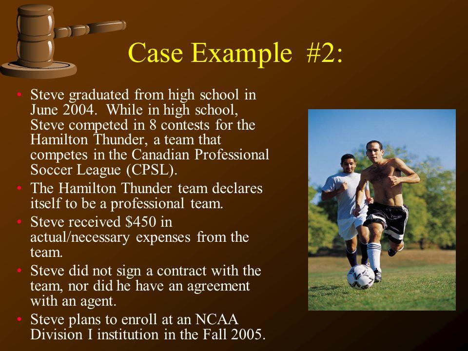 Case Example #2: