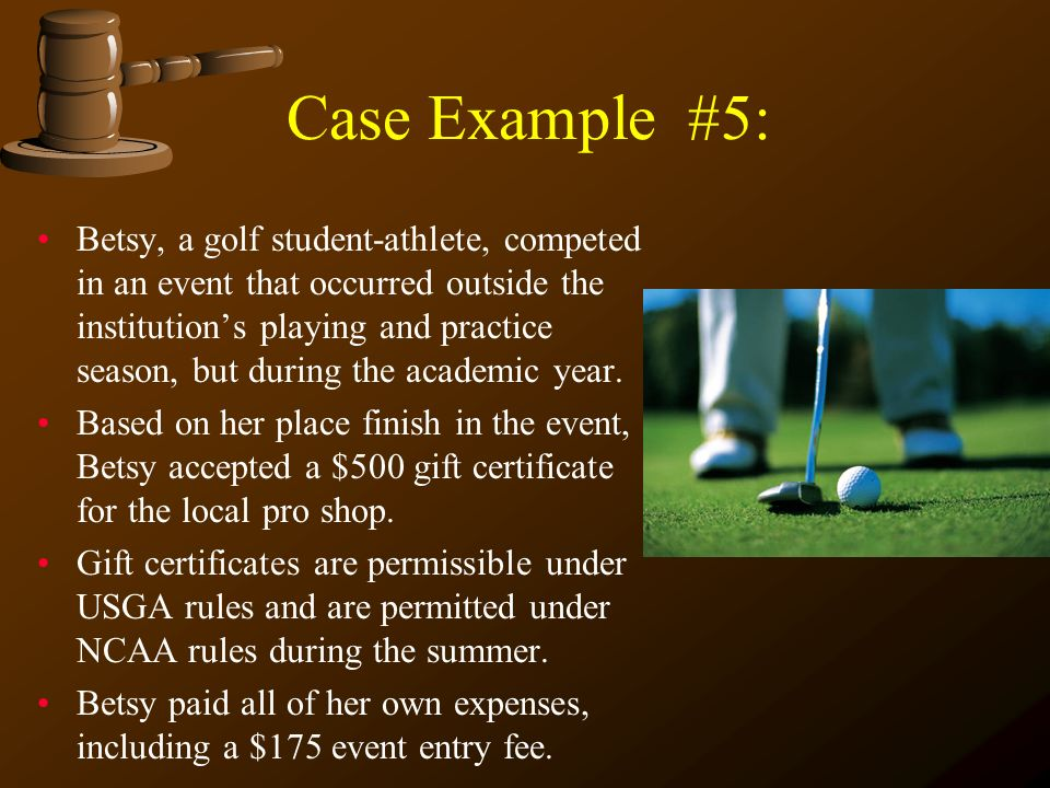Case Example #5: