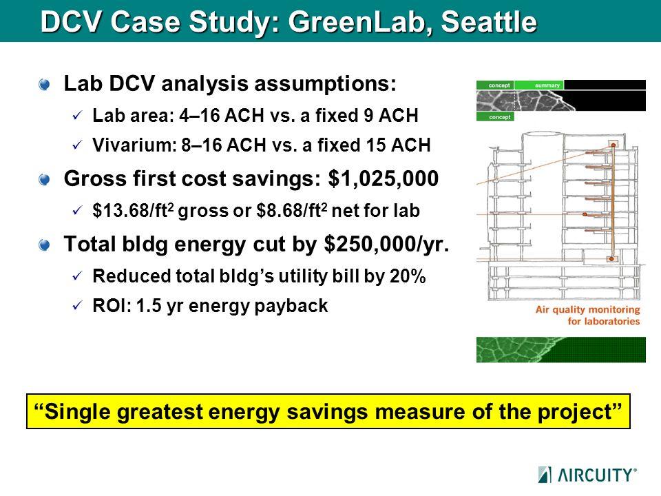 DCV Case Study: GreenLab, Seattle