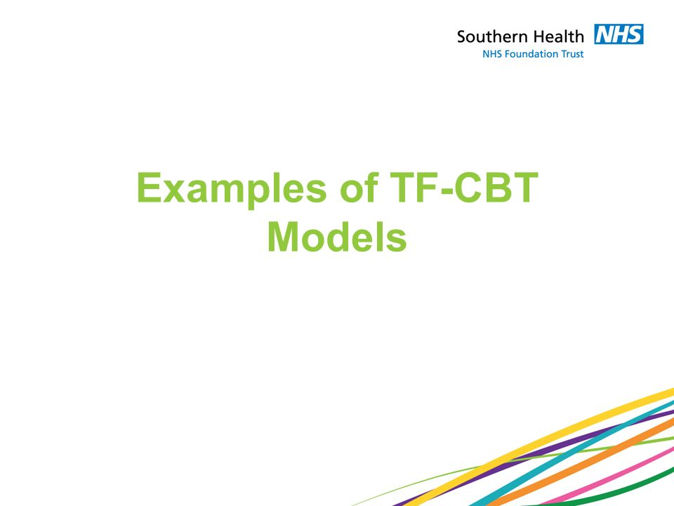 Examples of TF-CBT Models