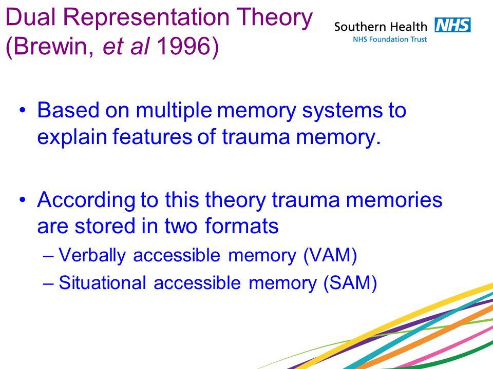 Dual Representation Theory (Brewin, et al 1996)