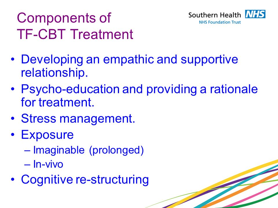 Components of TF-CBT Treatment